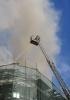Пожар в Москве (Никольская улица): Фоторепортаж
