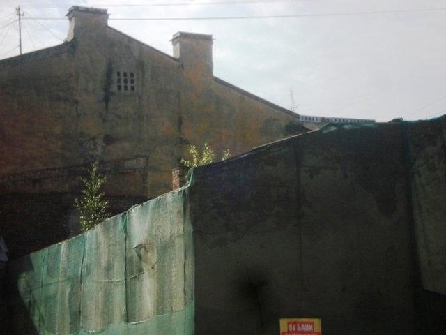 разрушающиеся дома : Фото