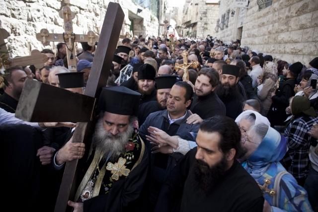 Страстная пятница в Иерусалиме: Фото