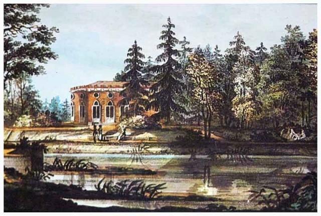 Баболовский_дворец._Литография._В.П.Лангер._1820_год.jpg
