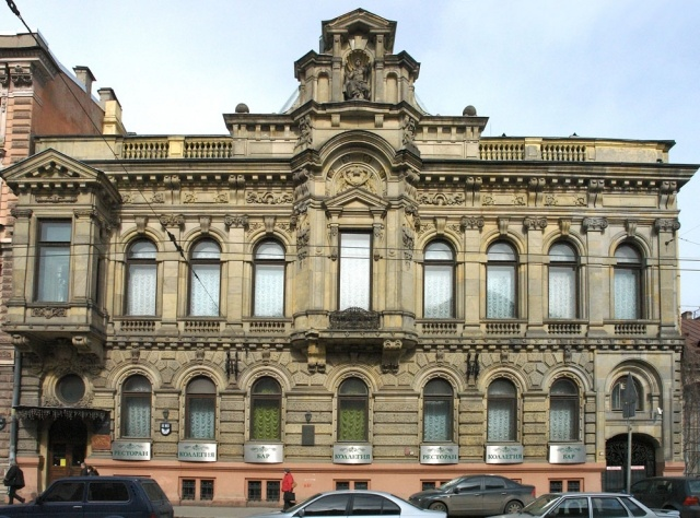Закрытые особняки и здания Петербурга: Фото