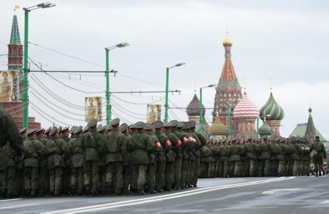 Репетиция парада победы в Москве: Фото