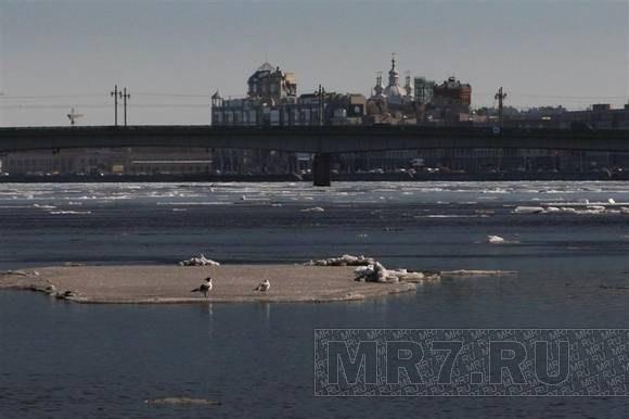 Лед на Неве: Фото