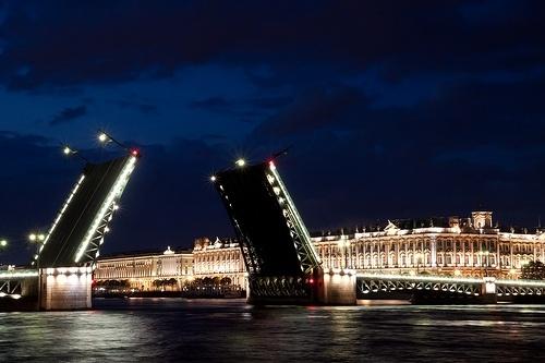 Развод мостов: Фото