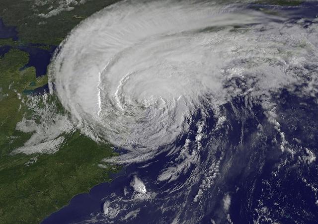 Ураган (вид из космоса): Фото