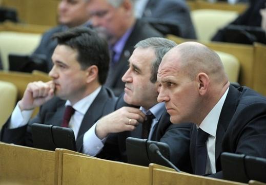 Путин выступил в Госдуме 11.04.2012: Фото