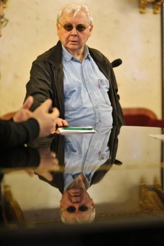 Олег Табаков в Петербурге: Фото