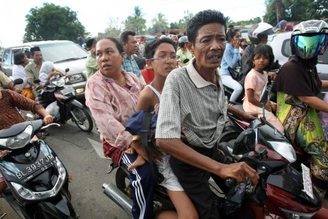 землетрясение в Индонезии 11.04.2012: Фото