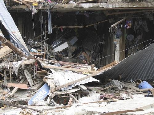 Землетрясение в Индонезии: Фото
