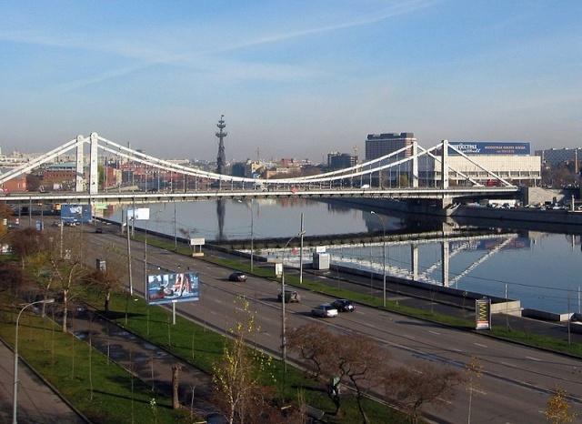Крымский мост в Москве: Фото
