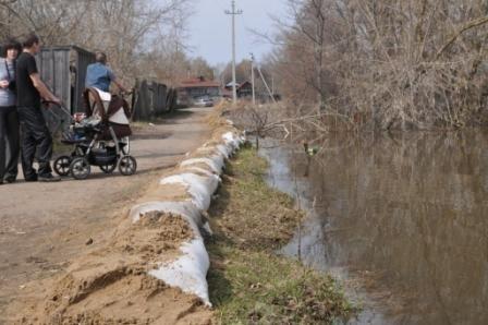 Из затопленного поселка Кадом эвакуировали 300 человек : Фото