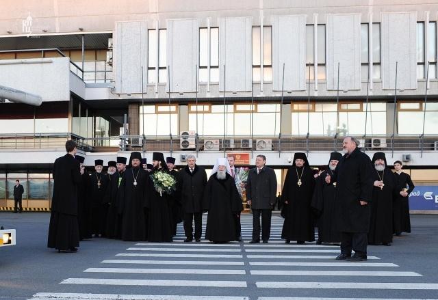Патриарх Кирилл в Петербурге: Фото
