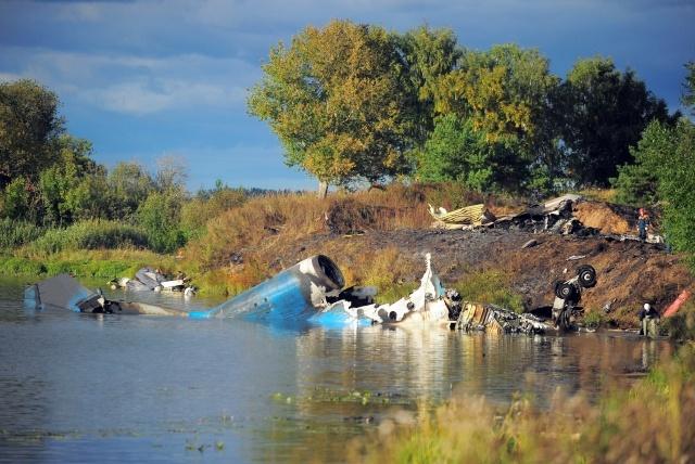 Крушение Як-42 под Ярославлем: Фото