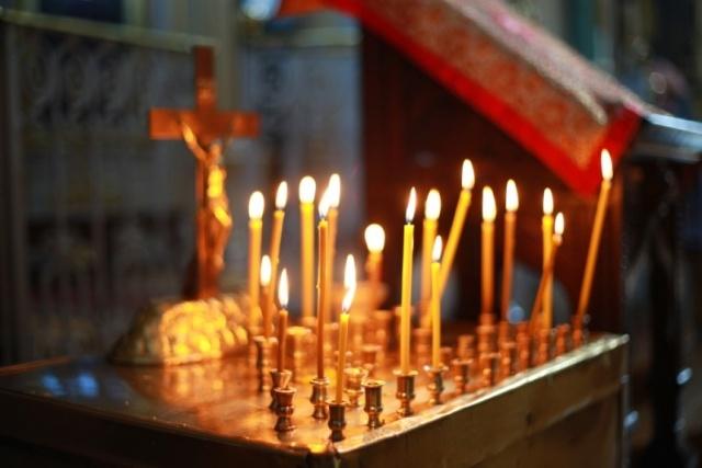 Богослужение в Князь-Владимирском соборе: Фото