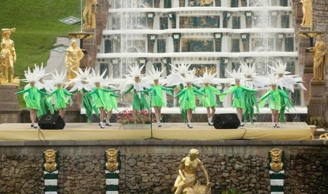 фонтаны Петергофа: Фото