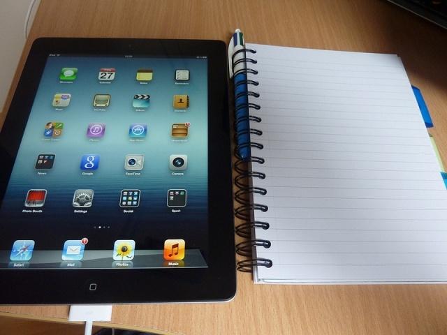 iPad: Фото