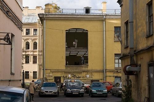 Дворы Петербурга: Фото