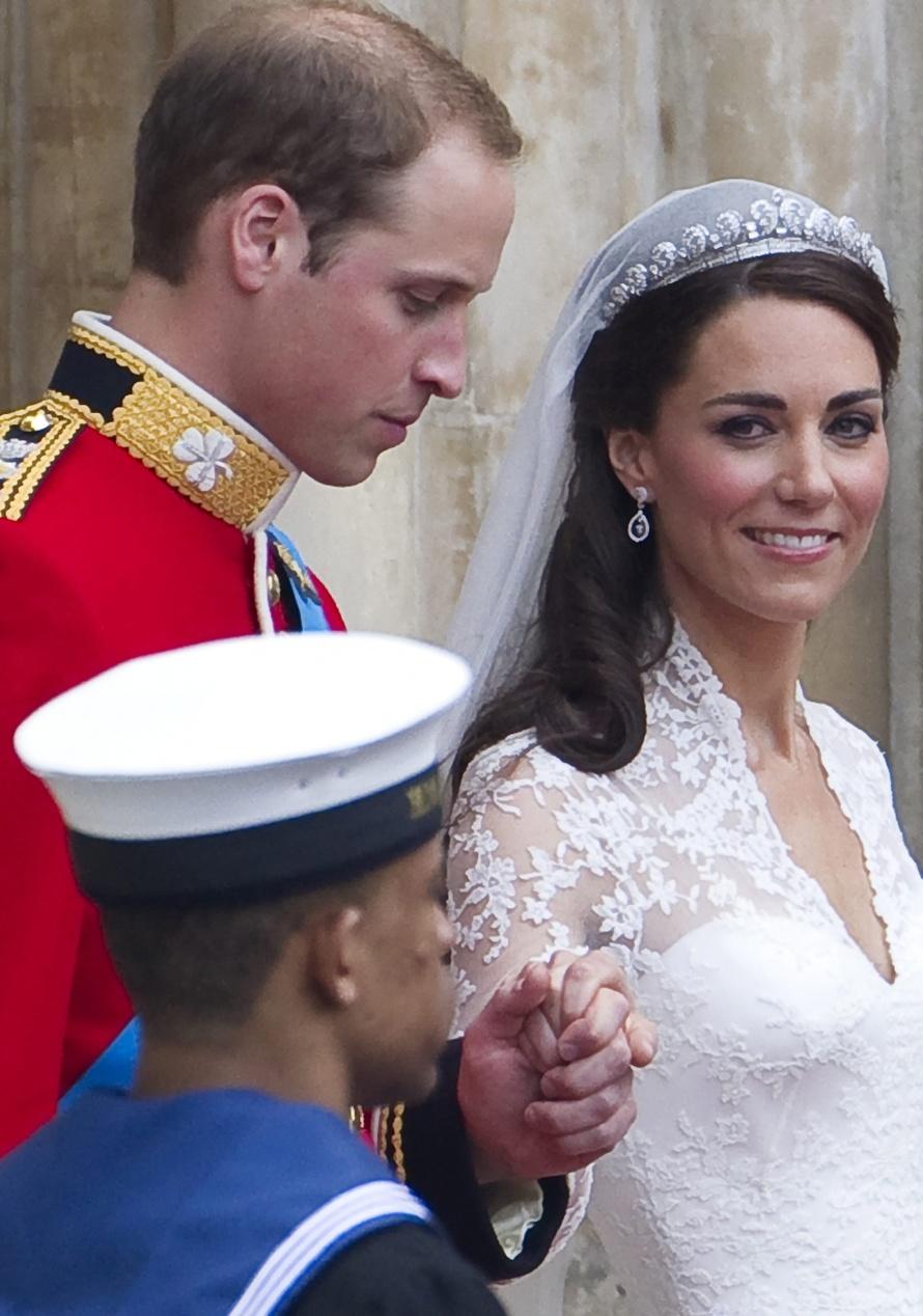 Свадьба принца уильяма фото со свадьбы