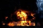 Крупный пожар у станции Ручьи начался из-за поджога