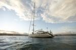 Российская яхта «Скорпиус» застряла во льдах Антарктиды