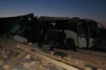 Грузовик протаранил автобус в Нижегородской области, более 20 пострадавших