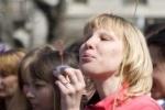 На Дворцовой запустят тысячи мыльных пузырей