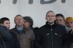 Удальцов вышел из ОВД и написал заявление о ложном доносе