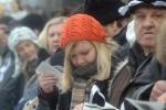 Среди задержанных на Красной площади - Евгения Чирикова