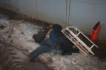 У владельцев снесенных гаражей пропадают вещи