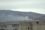 После взрыва в Чите возник пожар площадью 1,5 тысячи кв. метров