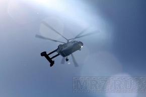 С упавшим в Карелии вертолетом установили связь: все живы