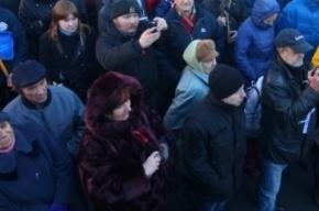 На митинге в Новопушкинском сквере готовятся к
