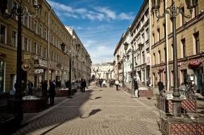КГИОП запретил уродовать Малую Садовую летними кафе