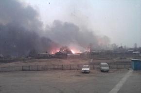 К горящему поселку в Амурской области вылетели самолеты
