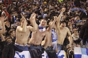 На матч с «Кубанью» отправится 2 тысячи фанатов «Зенита»