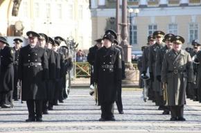 Фоторепортаж: репетиция Парада Победы на Дворцовой площади