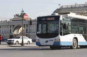 Троллейбусы не пустят на набережную Макарова из-за строительства метро