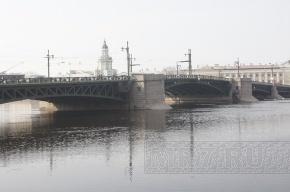 В Петербурге ночью 4 апреля разведут Дворцовый мост