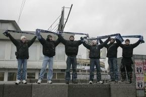 Марш фанатов «Зенита» в Петербурге собрал 5 тысяч человек