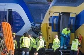 Из-за столкновения поездов остановлено движение по железной дороге в Нидерландах
