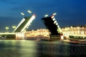 Обнародован новый график разводки мостов в Петербурге