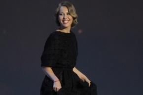 На церемонии вручения премии «Ника» Собчак стала жертвой провокации