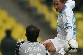Вратарь «Спартака» Андрей Дикань вернется на поле в маске
