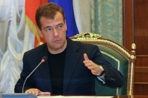 Дмитрий Медведев за год вновь заработал меньше, чем Владимир Путин
