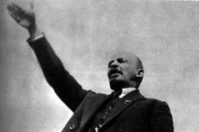 В центре Москвы осквернили Ленина, сделав его людоедом