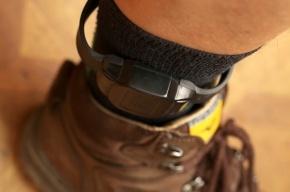 В Выборгском районе сняли первый электронный браслет с ноги арестанта