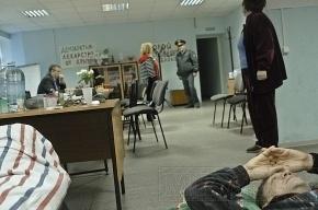 Голодающим в Петербурге обманутым дольщицам становится все хуже