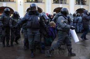 Оппозиционерка, приговоренная в Петербурге к 10 суткам ареста, объявила голодовку