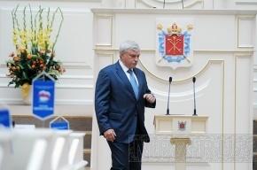 Губернатор Петербурга опроверг слухи о своей скорой отставке