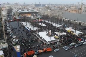 Накануне инаугурации Путина оппозиция устроит в Москве «Марш миллионов»